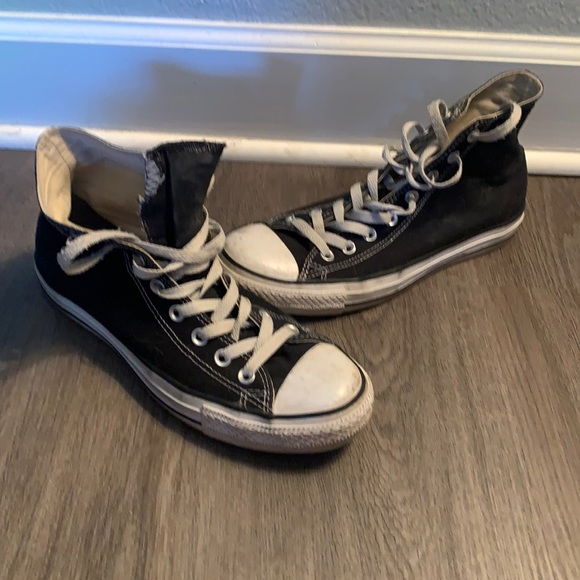 Black Converse All Star Chuck Taylor M/W 9/11